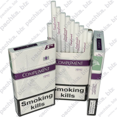 COMPLIMENT 5 Violet Super Slims Duty-free