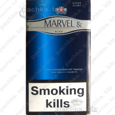 MARVEL BLUE 4 SUPER SLIMS Duty-free