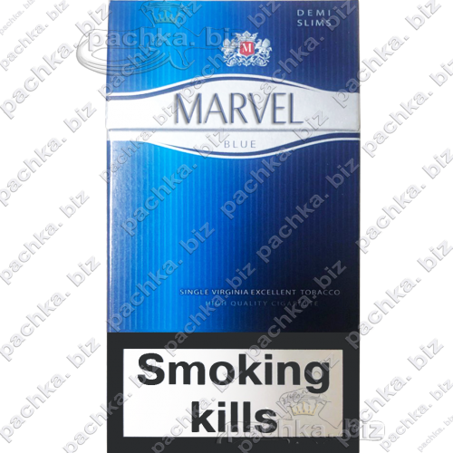 MARVEL BLUE 4 DEMI SLIMS Duty-free