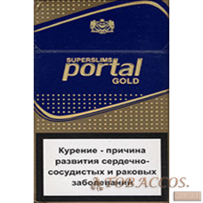 "Сигареты ""Portal Superslim Gold"""
