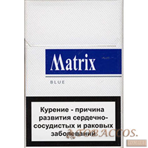 "Сигареты ""Matrix Blue"""