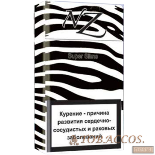 Сигареты NZ  Black Superslims