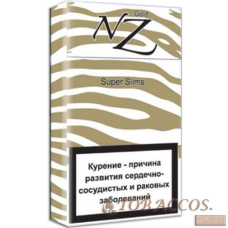 "Сигареты ""NZ GOLD"" Superslims"