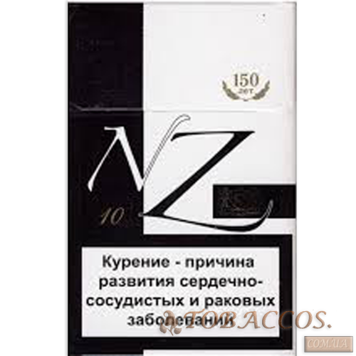"Сигареты ""NZ 10"" black King Size"
