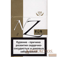 "Сигареты ""NZ 8"" Gold King Size"