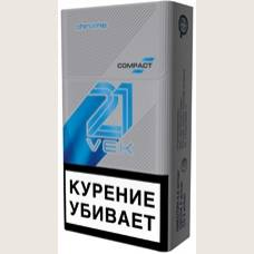 Сигареты 21 VEK COMPACT CHROME (21 ВЕК КОМПАКТ ХРОМ)