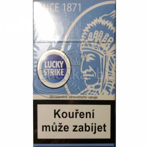 LUCKY STRIKE BLUE ИНДЕЕЦ ДЬЮТИ
