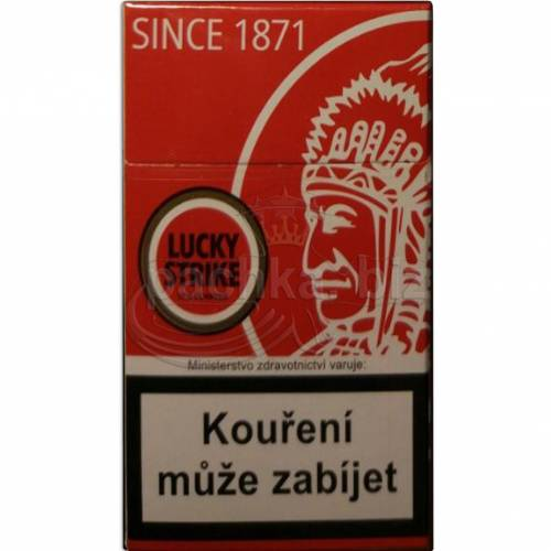 LUCKY STRIKE RED ИНДЕЕЦ ДЬЮТИ