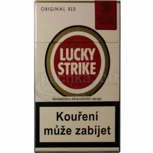 LUCKY STRIKE RED ДЬЮТИ