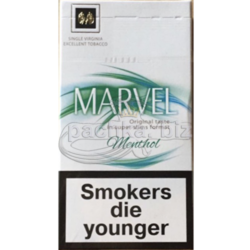 MARVEL MENTOL 3 SUPER SLIMS
