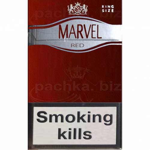 MARVEL RED 6 SUPER SLIMS