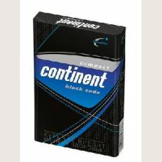 Continent compact black code