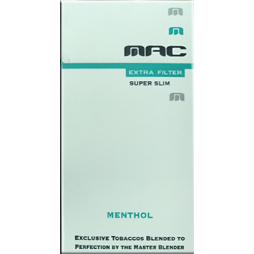 MAC SUPERSLIMS MENTHOL