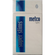 METCO SLIMS LIGHTS (МЕТКО СЛИМ СИНИЕ)