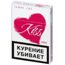 Kiss love is - 5 мг смолы, 0,6 мг никотина